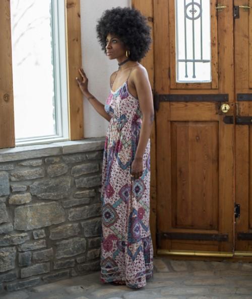Marsaili Sleeveless Maxi Dress