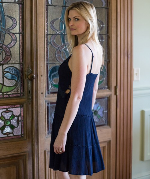 Solemn Strap Dress