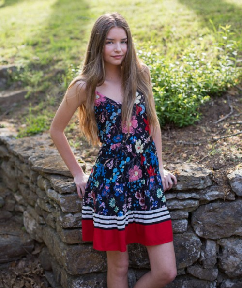 Miranda Floral Dress