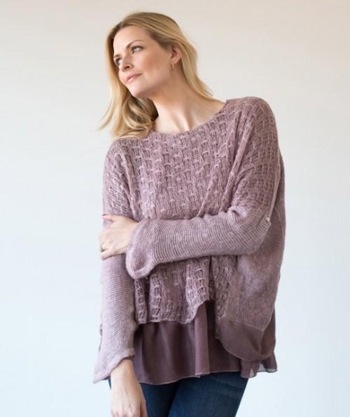 Penelope Layered Sweater