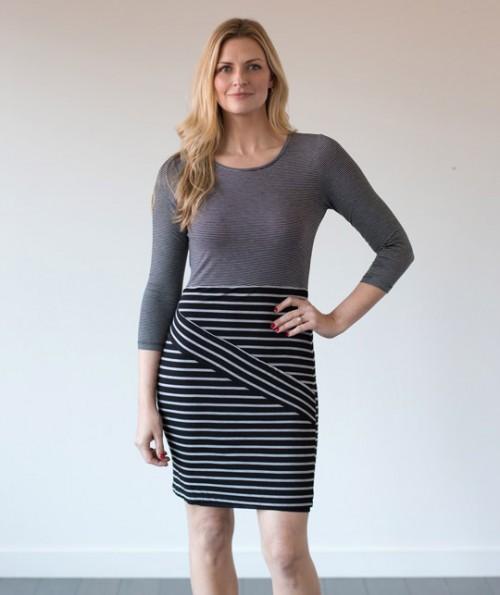 Murano Striped Dress