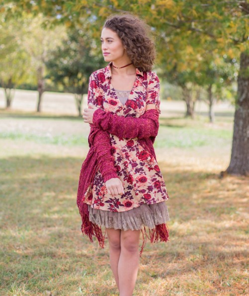 Charmaine Floral Tunic
