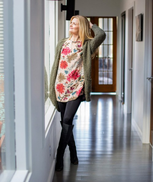 Elise Floral Tunic