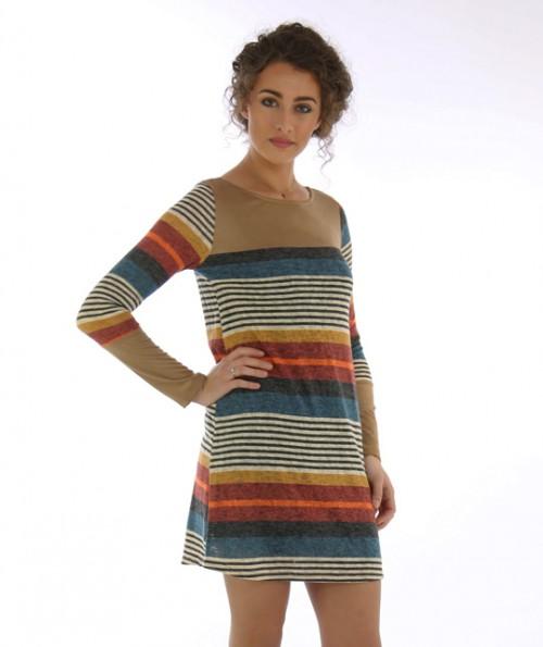 Merida Multi-Colored Dress