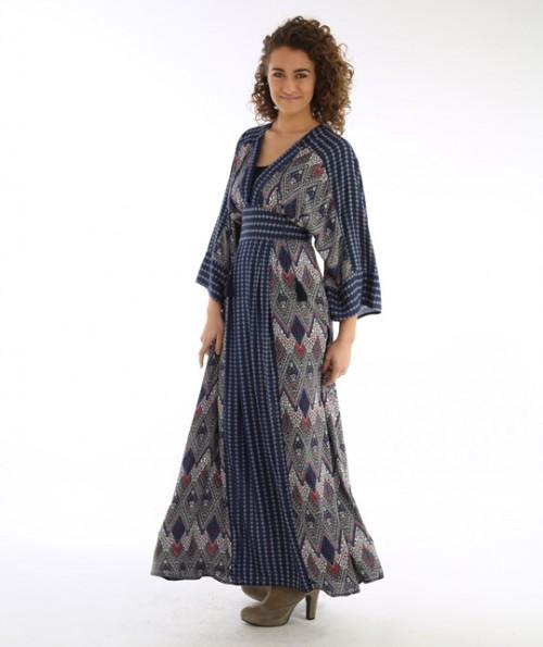 Marra V Neck Maxi Dress