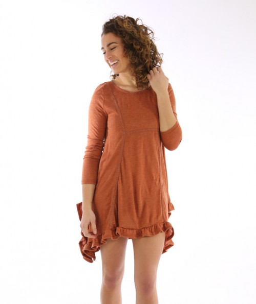 Umbria Ruffled Dress