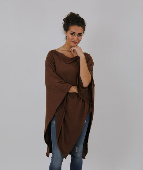 Ginger Cowl Neck Poncho