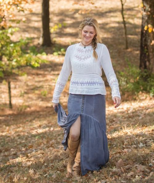 Avalon Maxi Skirt